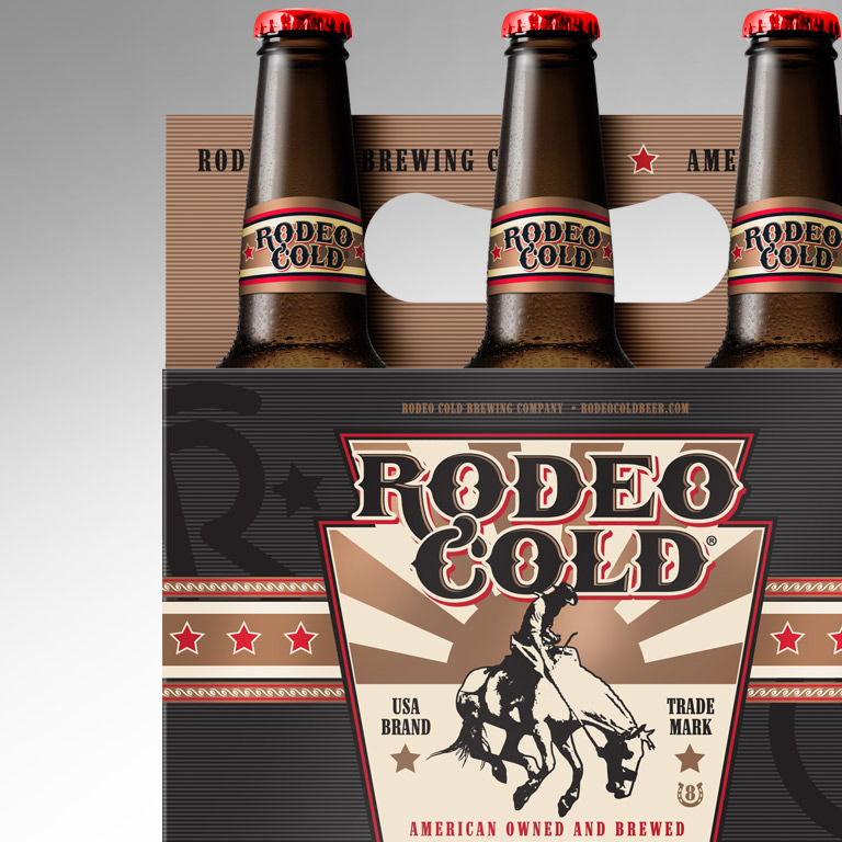 Rodeo Cold Beer Branding